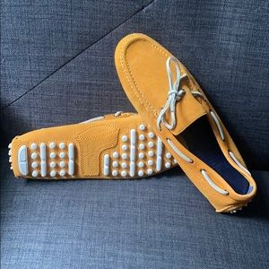 Cole Haan Air Grant Loafers Orange/white